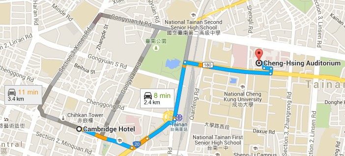 Tainan Hotel Near Train Station