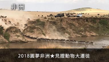 【非洲】2018圓夢非洲★見證動物大遷徙