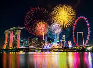【本週推薦-航空自由行2-圖】 小資新加坡跨年折599長達7分鐘的海上跨年煙火秀花小錢住文青質感打卡酒店 贈3日wifi機