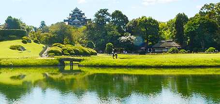 日本三大名园  后乐园